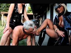 Exotic amateur BDSM, Femdom sex video