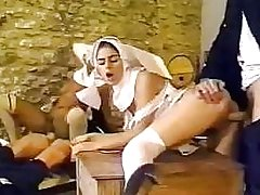 Dirty policemen busted having an intimate affair with sexy nuns