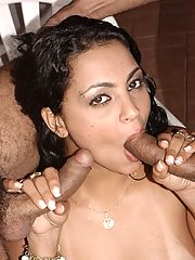 Sabrian love to suck and fuck as many guys as she can