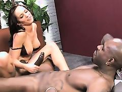 Flash Brown fucks cheating wife deep in the ass