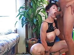 Some toying and fucking for this young lady