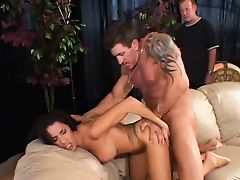 Man watches his wife get fucked