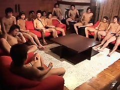 New Year All-Star Large Athletic Meet (wanking group scene)