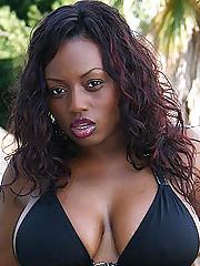 Busty Ebony Jada Fire