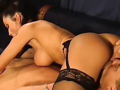 Romana Blake make this guy came in her tits