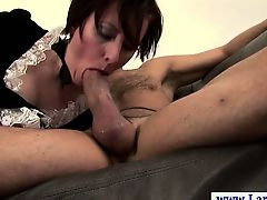 Sexy classy english mature loves to get spanked