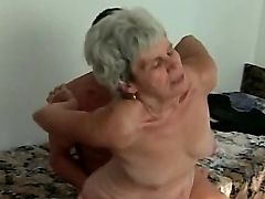 grandma knows how to fuck a cock