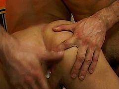 Latino gay bareback anal fuck