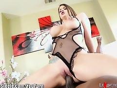 LexingtonSteele Brooklyn Chase Loves Huge Ebony Cock