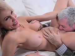 Erica Lauren Hot MILF Sucks and Fucks Jay Crew