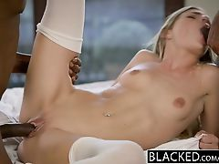 BLACKED First Interracial Threesome For Sydney Cole