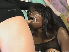 Fresh Black Ghetto Slut Tiny Ebony In For Face Ruining