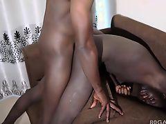 Black Africans George and Ben Barebacking