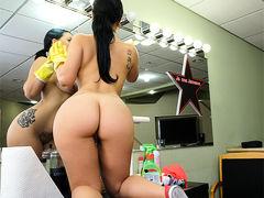 Kimmy Kush in Thick Latina Maid Enjoys First Day - BangBros
